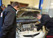 Осмотр двигателя на предмет утечек технических жидкостей, а также определение состояния этих жидкостей(масла в двигателе и коробке передач, тормозной жидкости)