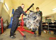 Замена двигателя 1UZ на автомобиле Land Cruiser 100