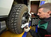 При измерении углов развал схождения , важно правильно установить датчики, иначе регулировка будет не правильной, что повлечет за собой повышенный износ шин.