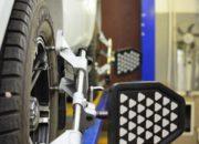Датчики установлены на все колеса. Можно приступить к измерению и регулировке.
